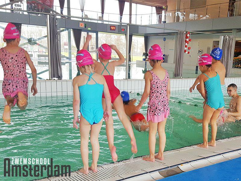 SuperSpetters zwemles Amsterdam zwemschool