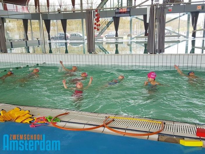 Zwemschool Amsterdam geen wachtlijst